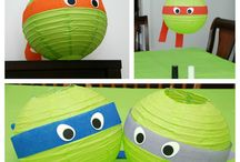 tHeMinG -NiNja tUrtLe & sUpEr hEroeS / by Mint Jelly Art & Craft Parties