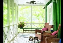 Screened Porches / by Kelli Fritts