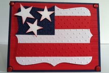 4th of July cards / by Sandra Guinaugh