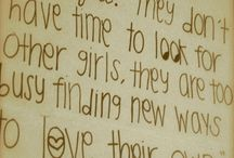 quotes make me happy  / by Abbie Trimble