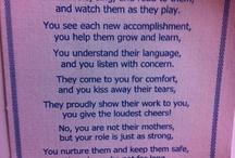 teacher appreciation / by Lesley Bridges