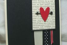 handmade valentines love cards /easter cards / by Wendy Besand