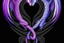 Dragons / by Luna Ryuu