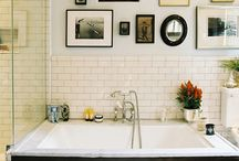 Bathrooms and Tubs / by Robyn Knibbs