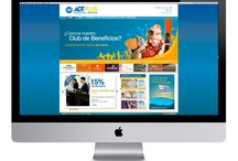 ▲ Index / ADT Security Services / The security company ADT, commissioned for the launch of their benefits program ADTPLUS , the integral design of the program. Through a modern design and adaptable to different needs, we designed the website, digital communication and promotional pieces. Also take care about maintenance and updating, and all digital communication. / by EstudioIndex Visual Communication