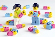 LEGO LEGO LEGO / Love legos and my kids (3 and 1) started getting into it too! Can't help search for LEGO ideas and designs on Pinterest!  / by Tina SooHoo