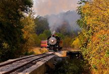 Trains. / by Ron Woods