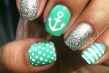Ongles girly ! / by Marie-jeanne Godbout
