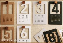 collection // lovely calendars / by Rachel Dallaire