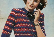 Vintage Knitting / by Sara Addelsee