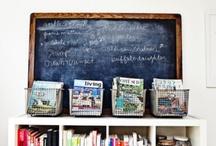home school room / by Amanda McAlpine
