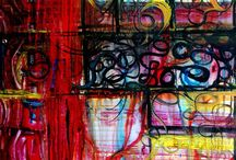 Abstract Paintings / by Zevit Aaron
