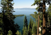 Lake Tahoe & Reno / I'm lucky to live in one of the most naturally beautiful places on the planet. The Sierra Mountains, Lake Tahoe and Reno area are one of the top vacation and recreation areas in the western USA, receiving millions of visitors each year. Winter is wonderful in the Tahoe Basin but summer is Lake Tahoe's busiest season. It offers a wide range of outdoor activities such as hiking, biking, water sports, golfing, camping, fishing, rock climbing and of course there's the world class entertainment. / by Gift Ideas