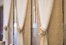 wedding drapes / by Sarah Springett