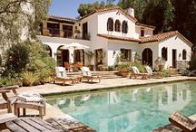 Mediterranean/Spanish architecture / Old Florida homes / by Stephanie Okuley