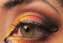 Halloween makeup. / by Kelly Broadwell
