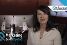 Marketing Quick Tips / In this video series, we will cover a variety of topics like how to grow your business through Facebook, how to get more followers on YouTube and how to leverage Pinterest for your business or brand. / by MediaOnQ