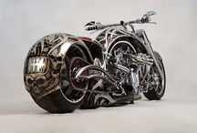 motorcyles galore / by Curt Hansel