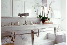 Bathroom Inspiration / by Kathy Sreenan