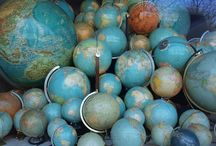 Globe Trotter / I have an extensive globe collection... / by Faith