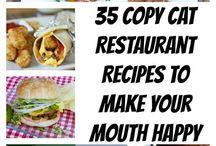 Copycat Recipes / Recipes stolen from Restaurants -ssshhhhhhhh!! / by Marsha Hembrick
