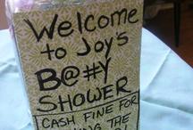 Baby Shower Stuffs!  / by Courtney Scott
