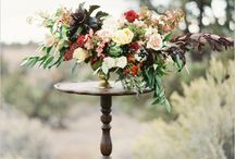 storyboard: set the stage / center stage: floral designs to make a smashing first impression for your ceremony. / by The Perfect Petal