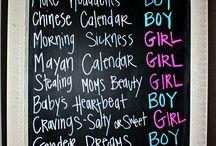 Gender Reveal Ideas / by Kristin Spruiell