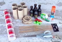 Christmas Cracker / How to make Christmas Crackers! / by Lainie Takawe