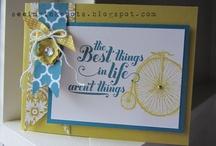 Card ideas / by Melissa Barker