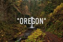 OREGON is home / by Violet Read