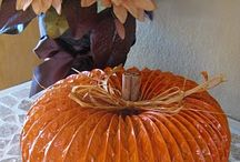 Fall (Thanksgiving & Halloween/Harvest) Ideas / by Christine Fox