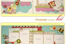 Scrapbook layouts / by Kimberly Johnson