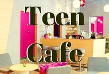 Teen Cafe / Teen Cafe is a laidback evening of games, crafts, chatting and snacks, all with a movie playing in the background. Each month has a theme that is loosely followed. Join in selected activities or bring your own to share.  / by Wright Memorial Public Library