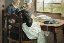 Knitting and Crocheting in Art / by Classic Elite Yarns
