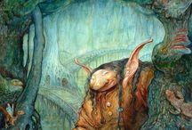 Trolls, Elves, Gnomes, etc / by Tere Wood