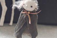 art dolls / art dolls / by Johanna Hatlestad