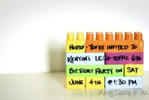 Kid's Party Planning / by Caitlin