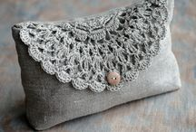 Crochet Purses and Bags / by Nelda Holliday