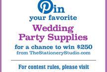 The Stationery Studio Wedding Contest / by Dana Jones