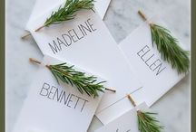 Place Cards / by Martica Lamar