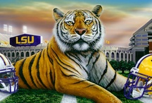 LSU / by Janna LeGrange