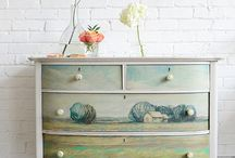 Painted and Repurposed Furniture / by Amy Weimer