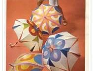 """revue de presse vintage / extraits """"textiles"""" choisis dans notre collection de presse féminine... / by Marion & Sylvie Breton"""
