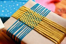 Wrap It Up / bows, tags, and wrapping ideas / by Kathy Golden