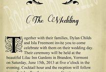 literary wedding / by Kathleen Thompson