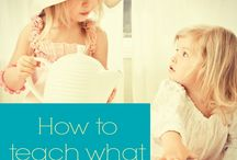 Things to teach my kids  / by Katie Matz