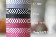 The Washi Tape / All the fun things you can do with your super cute washi tape! / by Emma Murray