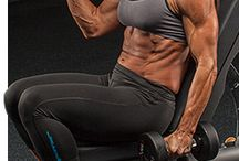 Muscles for me / Bodybuilding  / by Tasha Graham