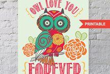 Owl crazy / by Tara Cox Borden